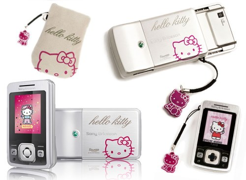Pack Sony Ericsson T303 Hello Kitty