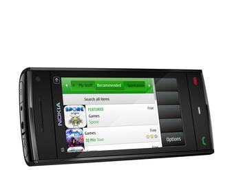 Nokia X6 negro