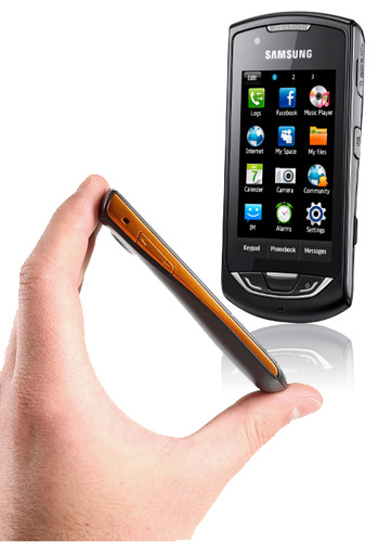 Samsung Onyx con Orange
